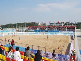 中国拉丁美洲沙滩足球赛