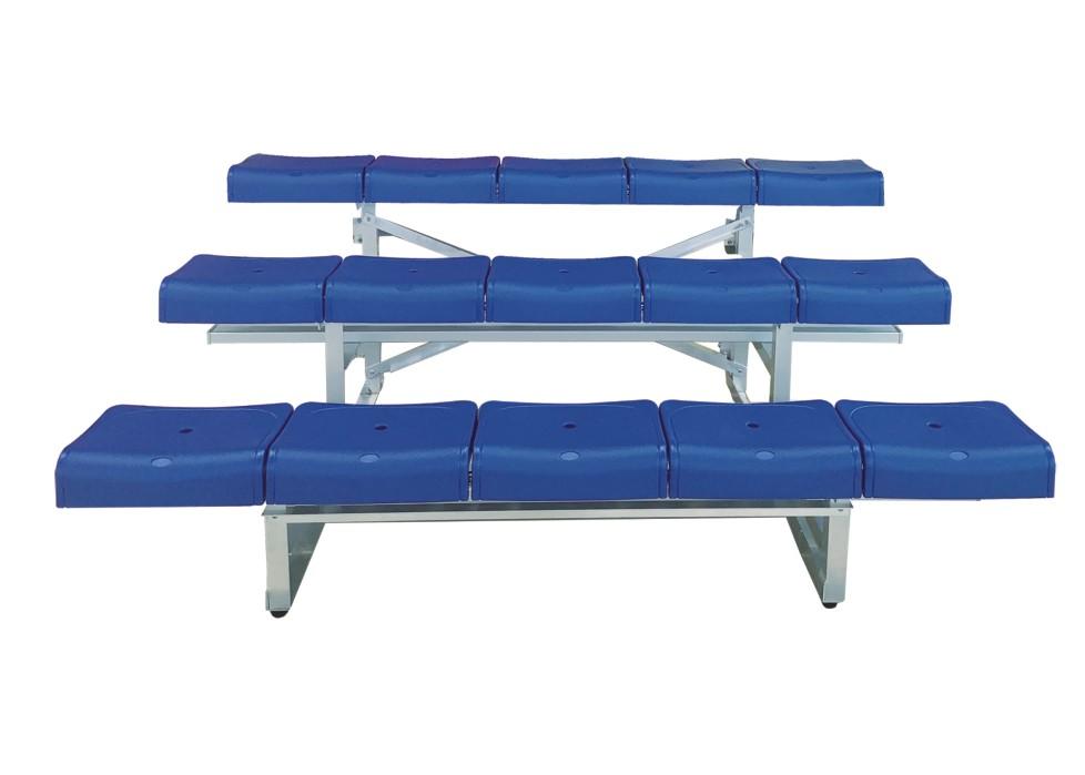 3排单踏椅 * YY-3LDZ-2250