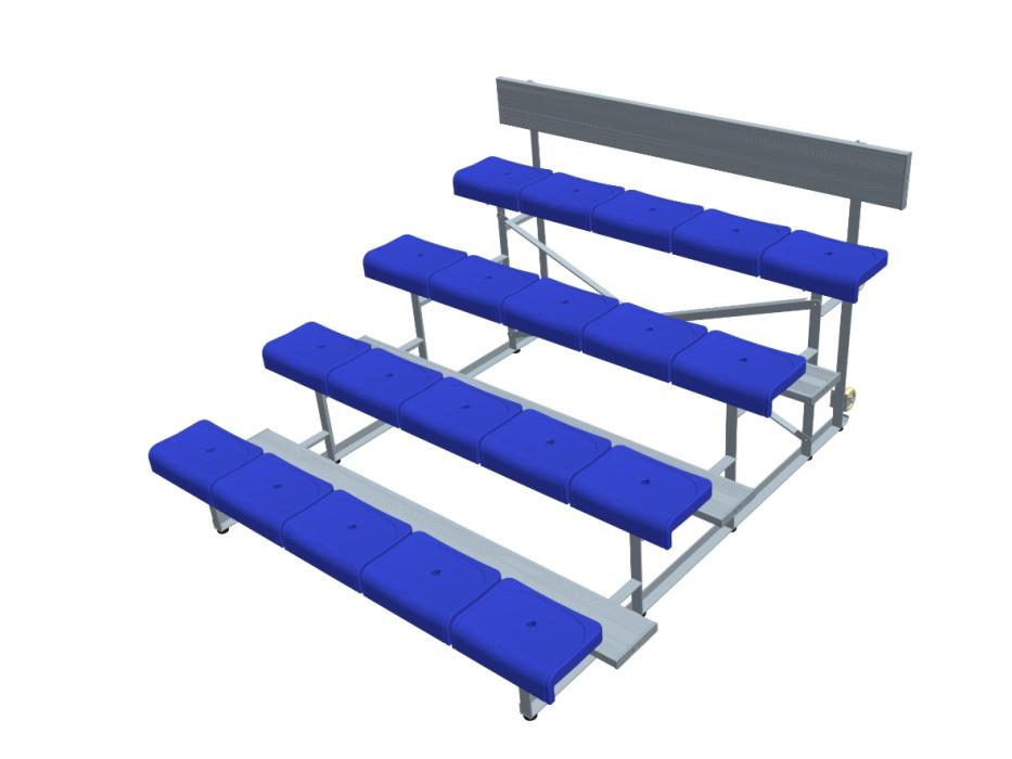 4排单踏椅 * YY-4LDZ-2250